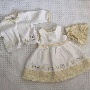 2 Carter's newborn dresses